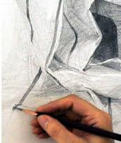 トライトーンアートラボデッサン教室アイキャッチ用画像デッサンの手元